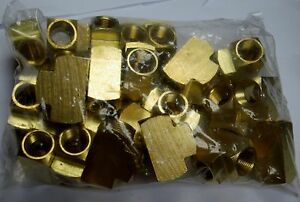 Brass Fittings Brass Tee Extruded Forged Pipe Female Pipe Size 3 8 Qty 25