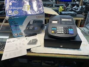 Royal 120dx Cash Register Used Works Great Comes In Original Box