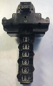 Federal Pacific 200 Amp Main Breaker With Load Center