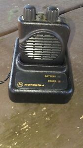 Motorola Minitor Iv Fire Pager W Charger Low Band 35 05 Vhf