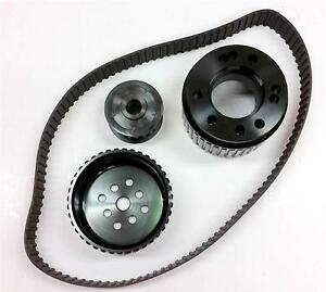 Small Block Ford 351c Cleveland Gilmer Belt Drive Pulley Kit High Performance
