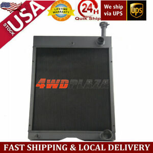 New A121725c1 International Tractor Radiator 766 886 966 986 1066 1086 1466