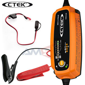 New Ctek 56 958 Mus 4 3 Polar Smart 12v Battery Charger Maintainer With Bag