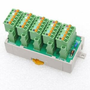Omron Dcn1 3n Devicenet 3 drop T port Tap Branch With Connectors Din Rail