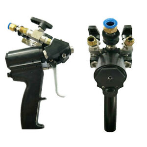 Polyurethane Pu Foam Spray Gun P2 Air Purge Work Flow 2 9 Kg min