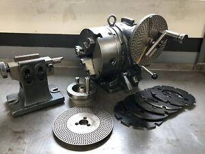 8 Yuasa Accu dex Spacer With Tailstock Dividing Attachment And Plates