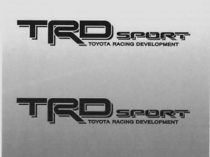 Trd Sport Decals Toyota Tacoma Racing Truck Bed Vinyl Stickers 2006 2011