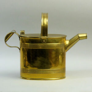 Victorian Maple Co Brass Watering Can C 1900