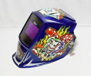 Miller Elite Series Welding Helmet Auto Darkening Jokers Wild Design 22522 7