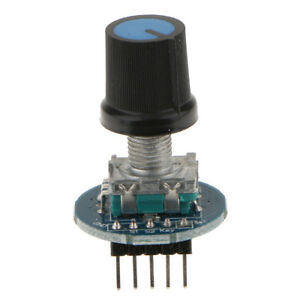 30mm Rotary Encoder Module Switch With Push Button For Keyswitch Component