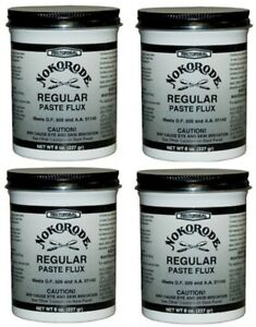4 Rectorseal Nokorode 14020 8 Oz Regular Soldering Paste Flux
