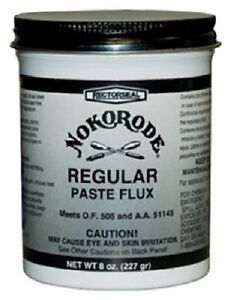 12 Rectorseal Nokorode 14020 8 Oz Regular Soldering Paste Flux