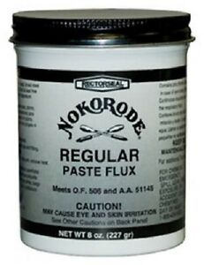24 Rectorseal Nokorode 14020 8 Oz Regular Soldering Paste Flux