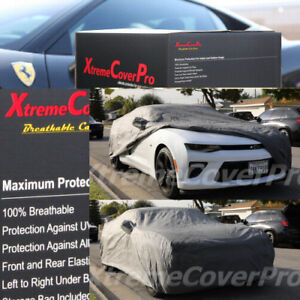 Custom Fit 2010 2011 2012 2013 2014 2015 Chevy Camaro Breathable Car Cover Grey