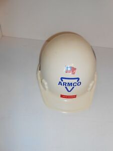 1986 Msa Class A Thermalgard Armco Steel Hard Hat With Stickers