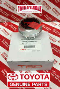 Toyota Trd Oil Cap Forged Billet Aluminum Genuine Oem Us Version Ptr35 00110