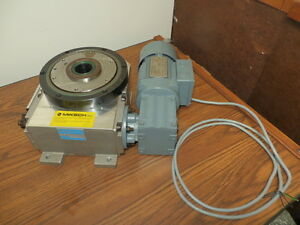 Miksch Gmbh Rigidial Cam Indexing Rotary Table 06 12 270 Used