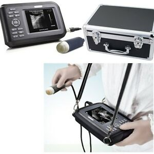 Us Fast Vet Veterinary Laptop Ultrasound Scanner Machine Handscan Animal Battery