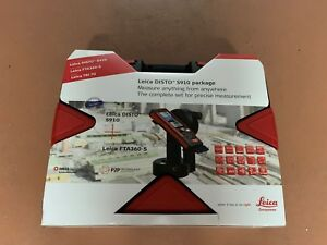 Leica Disto S910 Pro Pack 984ft Range Laser Distance Measurer Pro Kit New