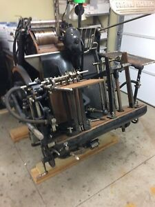 10x15 Letterpress Heidelburg Press