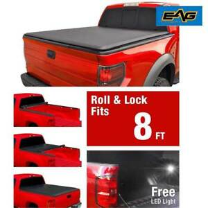 Eag 02 08 Dodge Ram1500 2500 3500 8ft 96 Long Truck Bed Roll Up Tonneau Cover