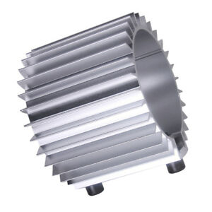 Polished Silver Oil Filter Cooler Heat Sink Cover Cap Aluminum Alloy Tool