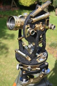 Vintage theodolite surveyors Watts Transit Surveying Instrument Antique