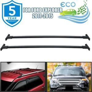For 2013 Ford Explorer Roof Rack Cross Bars Bike Carrier Roof Top Carrier