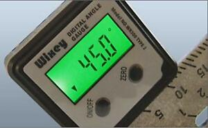Wixey Wr300 Type 2 Digital Angle Gauge With Backlight Strong Magnet Gauge Saw