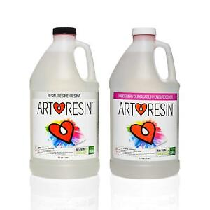 Artresin Epoxy Resin Clear No Respirator Needed 1 Gal 3 78 L