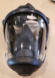 Sperian 762000 Survivair Opti fit Full Silicone Face Gas Mask