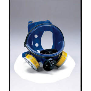 Survivair Full Face Respirator 4 Pt Full Face Suspension Type Mask Size Univ
