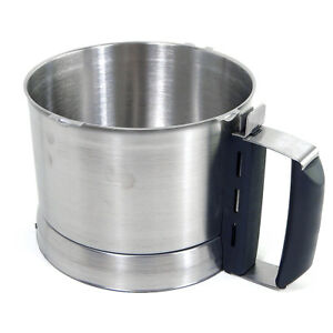 New Robot Coupe 39795 Stainless Steel Cutter Bowl For R2n Ultra R2 Ultra Dice