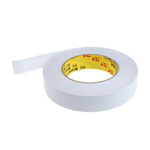 Width 25mm Double Sided Strong Self Adhesive Stick Foam Tape Roll 50m