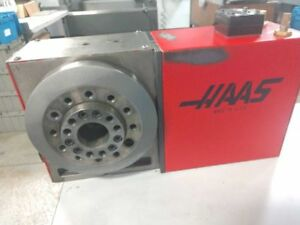 Haas Hrt 210 4th axis Rotary Table W Tail Stock