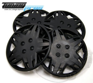 4pcs Qty 4 Wheel Cover Rim Skin Cover 14 Inch Style 509 14 Hubcap Matte Black