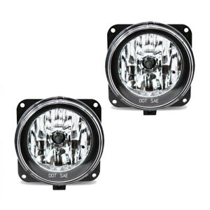 Fits Ford Escape Focus Mustang Driver Passenger Side Fog Light Assembly 1 Pair