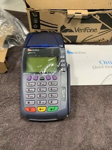 Verifone Omni 3740 Point Of Sale Pos Credit Card Terminal System