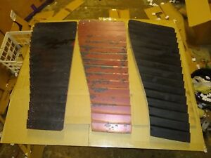 Lot Of 3 Camaro Iroc Hood Louvers Right Side Only Three Passenger Side Oem