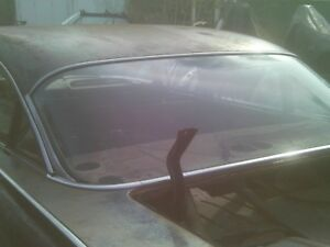 1959 1960 Chevrolet Belair Post Back Window Trim Impala Biscayne