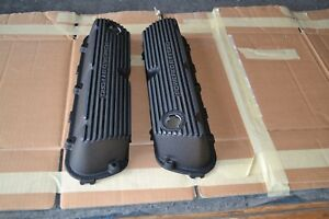 82 85 Mustang 5 0l V8 Powered By Ford Aluminum Valve Covers Powder Coated