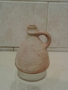 Rare Ancient Roman Vessel 1st Century Bce 2100 Yrs Old Authentic Found Israel