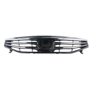 New Chrome Front Bumper Upper Mesh Grill Grille For Honda Accord 2011 2012