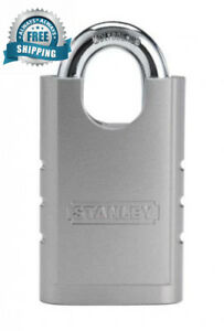 Stanley Hardware S828 152 Cd8820 Shrouded Hardened Steel Padlock In Silver