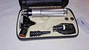Welch Allyn 3 5v Otoscope Ophthalmoscope Diagnostic Kit Model 11600 71050