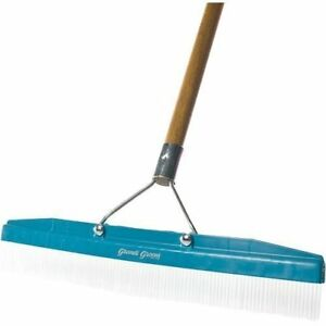 Commercial Groomer Carpet Rake 18 Wide With 54 Long Handle