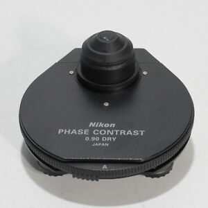 Nikon Eclipse Phase Contrast 0 90 Dry Microscope Condenser Ph1 ph2 ph3 a c df