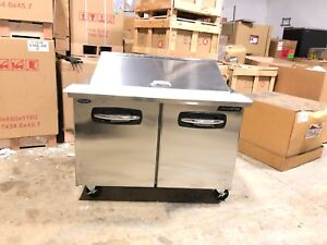 Norlake Smp48 18 48 Commercial Refrigerated Mega Top Sandwich Prep Table