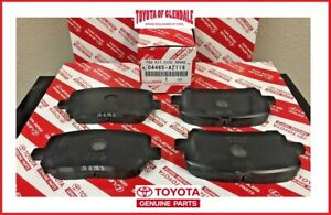 2003 2008 Toyota Corolla Front Brake Pads Genuine Oem New 04465 az118