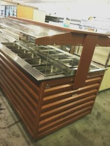 Cooler Salad Bar Self Serve Buffet 72 48 Serving Buffet On Wheels